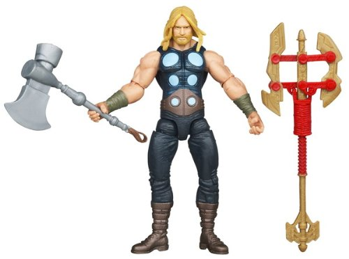 The Avengers 2012 Comic Series Battle Hammer Thor 4 inch Action Figure - 1