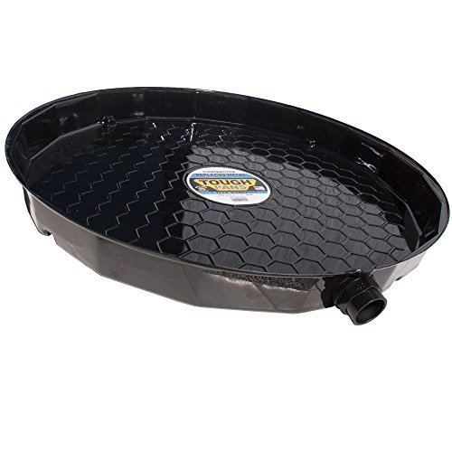 Tough Pans 27 Inch Contractor Hot Water Heater Drain Pan