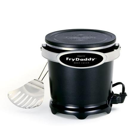 Presto Fry Daddy 4-Cup Electric Aluminum Deep Fryer, Non-Stick Surface (Cheap Fryer compare prices)