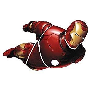 RoomMates RMK1155GM Iron Man Peel & Stick Giant Applique