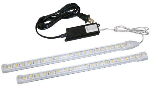 Liteline Corporation LEDSTR2K-WW LED Strip Two-Light Kit, 12V, Warm White