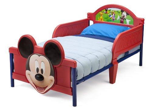 Delta Children Lit junior Mickey avec pied de lit en 3D