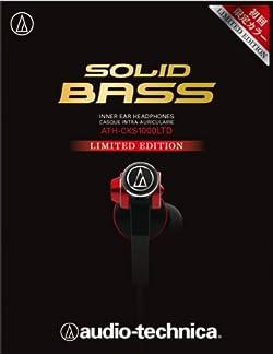 audio-technica SOLID BASS インナーイヤーヘッドホン限定カラー ATH-CKS1000LTD