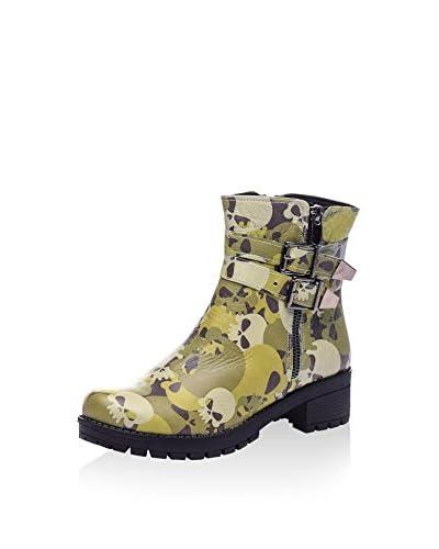 Isabelle Jaquelin Biker Boot khaki