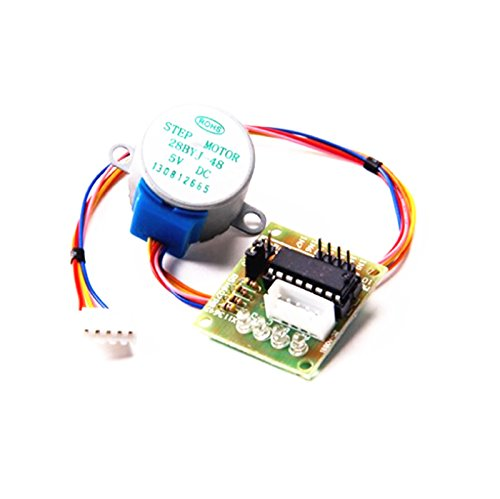 Wyph Dc 5V Stepper Motor 28Byj-48 With Uln2003 Driver Test Module Board 4-Phase 5-Line
