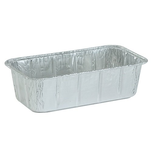 Nicole Home Collection 00600 Aluminum Loaf Pan, 2 lb. (Pack of 200)