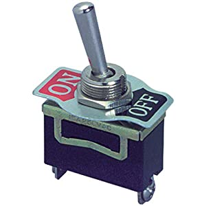 Heavy Duty Toggle Switch - SPST On/Off Type