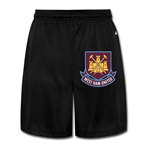 Hioyio Men 's West Ham United Fc London Logo Shorts (West Ham United Fc Shorts compare prices)