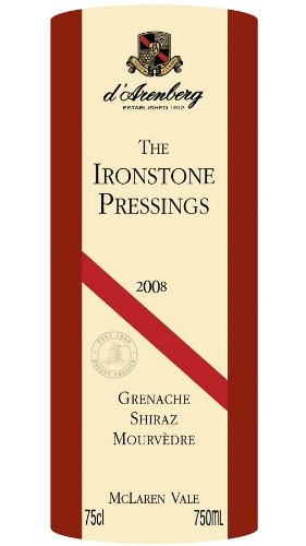 2008 D'Arenberg 'The Ironstone Pressings' Grenache-Shiraz-Mourvedre Blend, Mclaren Vale 750 Ml
