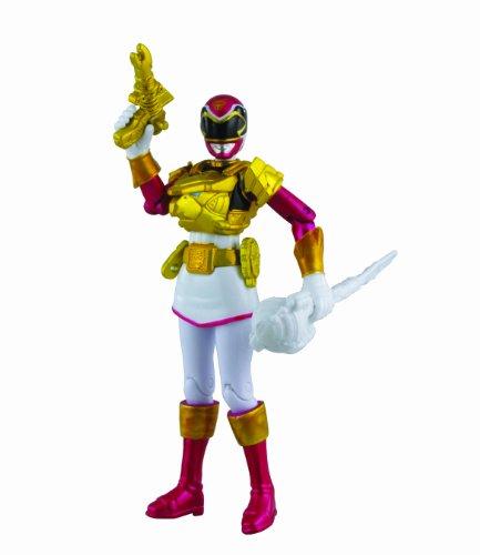 Power Rangers Megaforce Action Figure Ultra Metallic Force Pink Ranger, 4 Inch - 1