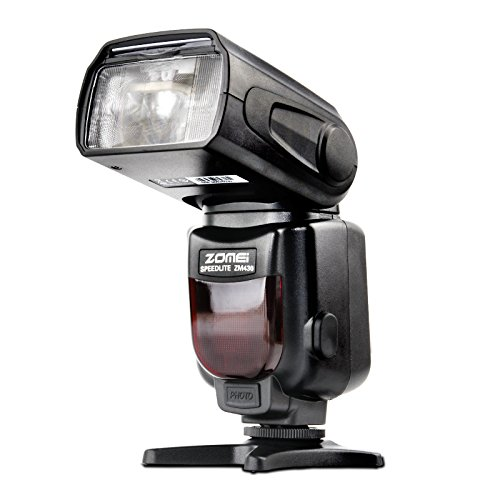 Zomei-ZM430-Professional-Manual-Speedlite-Flashlight-with-LCD-Display-Hard-Flash-Diffuser-GN56-for-Canon-Nikon-DSLR-Camera