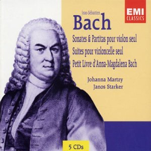 Janos Starker Bach Suites For Solo Cello No2 In D Minor No5 In C Minor