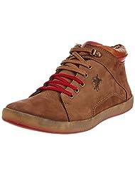 Buckaroo Men's Brown Leather Boots - 11 UK