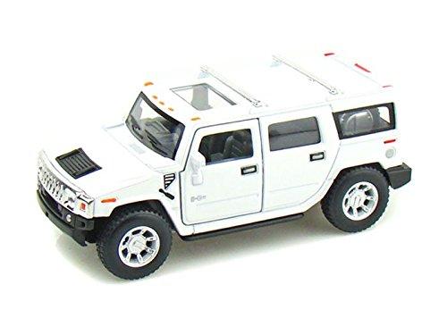 2008 Hummer H2 SUV 1/40 White