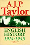 English History, 1914-1945 (Oxford History of England) (019285268X) by A. J. P. Taylor