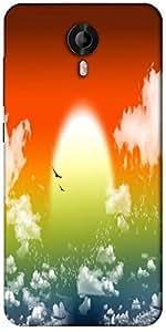 Snoogg Fantasy Sunset Designer Protective Back Case Cover For Micromax Canvas Nitro 3 E455