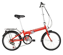 "20"" Lightweight Aluminum Folding Bike Foldable Bicycle by Folding"