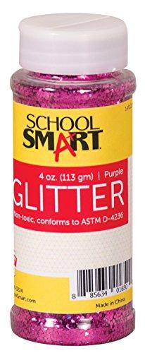 School Smart Glitter, Purple