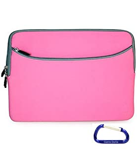 Gizmo Dorks Checkpoint Friendly Neoprene Laptop Carrying Sleeve for the Apple MacBook Pro 13-Inch, Pink