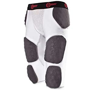 Buy Cramer Thunder 7 Pad Adult Integrated Football Girdle - Hard Thigh Pads by Cramer