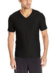 ExOfficio Men\'s Give-n-Go V Underwear Tee, Black, Medium