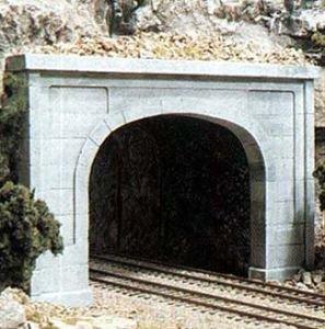 Woodland Scenics WS 1156 N Tunnel Portal Concrete-2 Double - 1