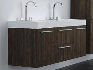 """Griffen 54.5"""" Double Bathroom Vanity"""