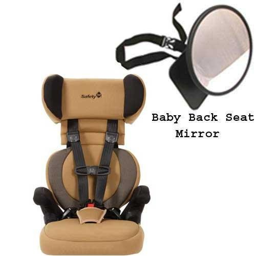 Safety 1st 22256ahf Go Hybrid Booster Car Seat in Clarksville w Back Seat Mirror