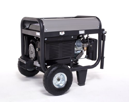 Lifan Platinum Series LF4000EPL 4000 Watt Commerical/Contractor/Rental Grade 7 HP 211cc OHV Gas Powered Portable Generator with Electric Start and Wheel Kit