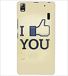 PrintDhaba Quote D-3411 Back Case Cover for LENOVO A7000 PLUS (Multi-Coloured)