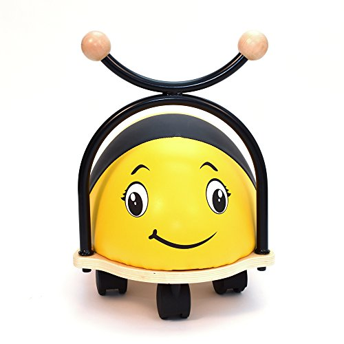 3style-scootersr-roller-buddy-childrens-ride-on-toy-walker-soft-wooden-balance-bike-ladybird-bumbleb