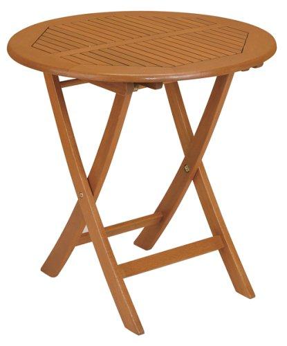 Strathwood Basics Folding Hardwood Bistro Table
