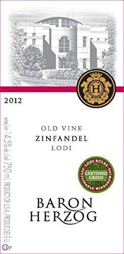 2012 Baron Herzog Lodi Old Vine Zinfandel 750 Ml