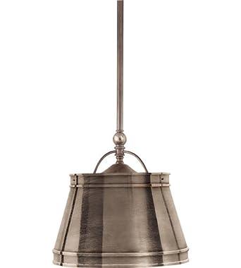 Chc5101an an e f chapman sloane 2 light pendants in antique nickel