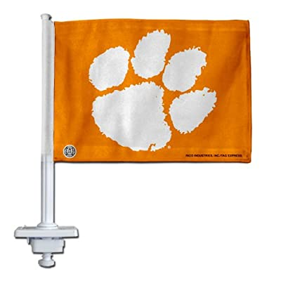Clemson Car Flags