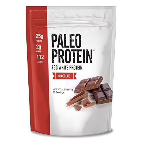 Paleo Protein Egg White (Chocolate) (Soy Free) (2 Carbs)(2LBS) (Bakery Paleo Protein compare prices)