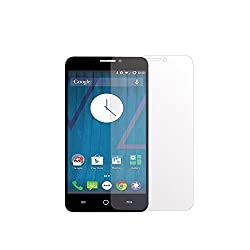 Micromax YU Yuphoria YU5010 Glass Screen Protector Tempered Glass -Combo Pack of 3 , VACK Tempered Glass Ballistics Glass, 99% Touch-screen Accurate, Anti-Scratch, Anti-Fingerprint, Round Edge [0.3mm] Ultra-clear - Retail Packaging