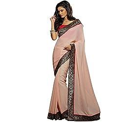 Vasu Saree For Women Fashionable Desginer Dusty Pink Colour Latest Viscose Fabric Saree