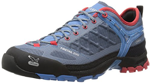 SalewaWS FIRETAIL EVO GTX - Scarpe da trekking e da passeggiata Donna , Blu (Blau (8602 Blue Jeans/Poppy Red)), 36.5