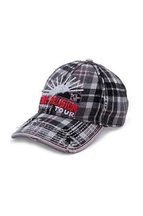 True Religion Cap WORLD TOUR SEQUIN CAP, Color: Grey, Size: One Size