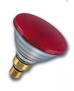 OSRAM Reflektorlampe 80W 240V E2CONC PAR38 RED 80