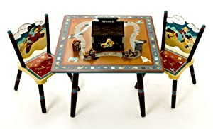 Wild West Table 2 Chair Set Sku-pas527146 by WMU