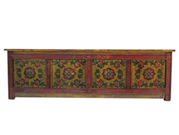 China for flat TV Lowboard Floor Unit Sideboard Flat Pine-Maroon Red