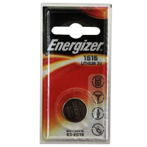 10 X Energizer CR1616 Lot de 5 piles bouton