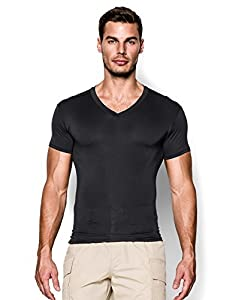 Under Armour Men's Tactical Heatgear Compression V-Neck T-Shirt from Under Armour