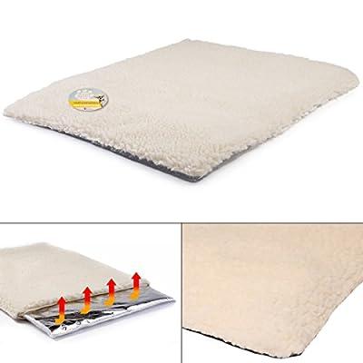 Me & My Heat Reflective Cat/Dog Thermal Fleece Cushion Bed