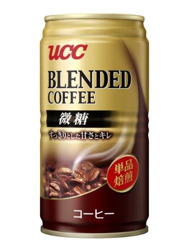 UCC ブレンドコーヒー微糖缶 185g×30本
