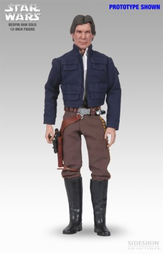 Sideshow Heroes of the Rebellion Collectibles Star Wars Deluxe 12 Inch Action Figure Bespin Han Solo (12 Inch Star Wars Figures compare prices)