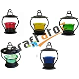 Christmas Gift Home Decorative Tealight / Candle Light ( Multi Color ) Pack Of 5