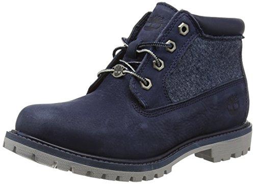 timberland-nellie-womens-boots-dark-urban-chic-barefoot-buffed-nubuck-6-uk